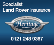 Heritage Land Rover Insurance