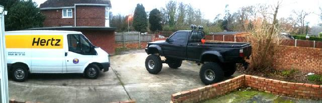 Lifted Vw Taro Toyota Hilux Mk3 Monster Pickup