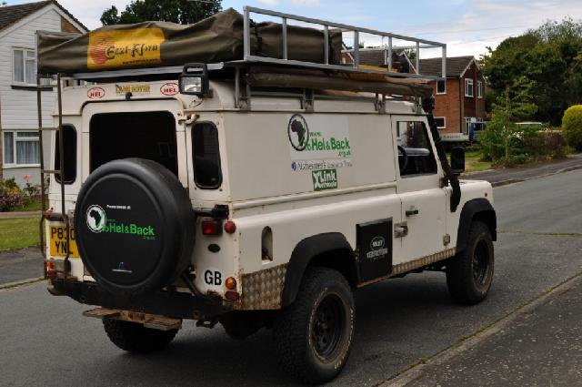 Land Rover Defender 110 Expedition Ready For Sale
