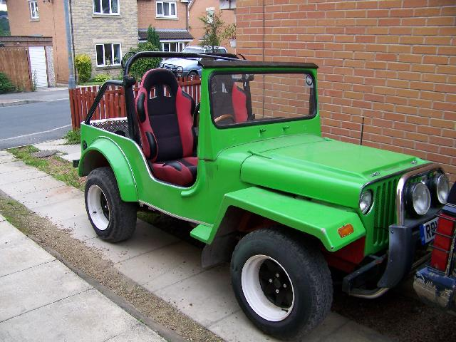 Wanted Roof For My Jago Jeep Kit Car