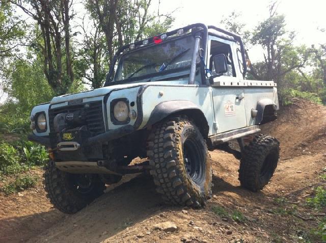 300tdi Defender Challenge Truck