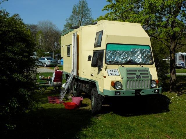Pinzgauer 718 6X6 Overland Expedition Camper
