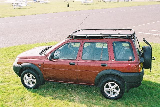 Safety Devices Freelander Outrack Roof Rack ---NEW