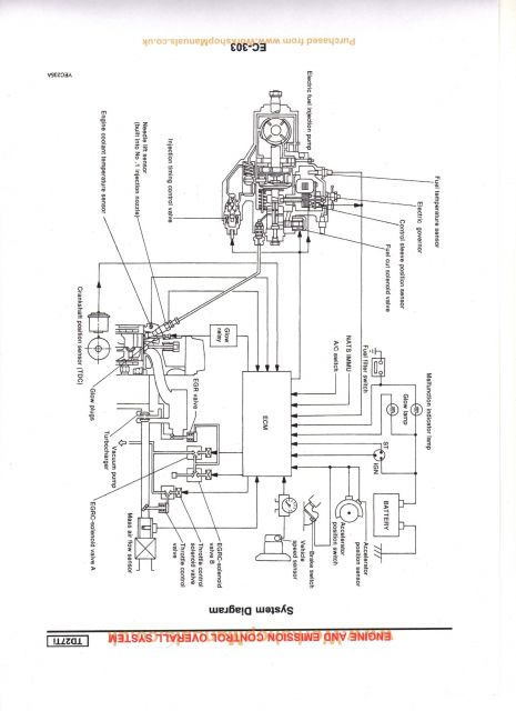 Nissan Terrano Alternator Wiring Diagram
