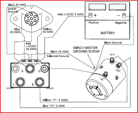 toyota winch wiring diagram example electrical wiring diagram u2022 rh olkha co Wireless Winch Remote Wiring Diagram Warn Winch Parts Diagram