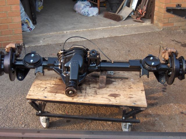 Difflock View Topic 2002 Td5 110 Rear Axle