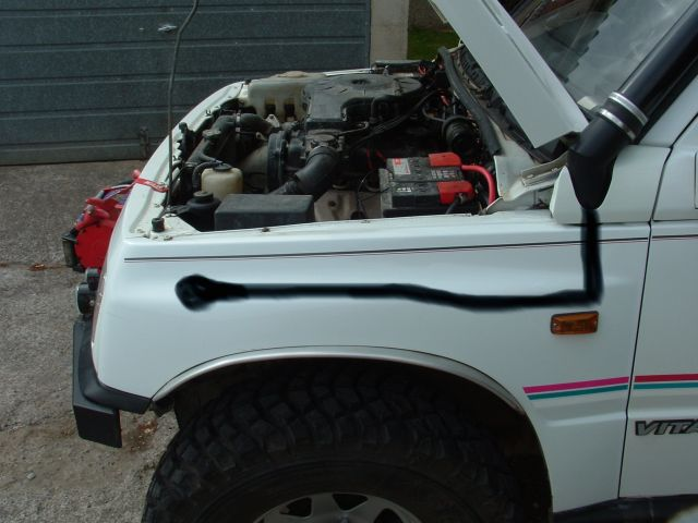 Difflock :: View topic - pics of your homemade vitara snorkels