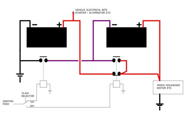 24v battery diagram  24v  get free image about wiring diagram