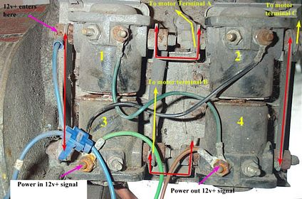 trailer wiring diagram warn works  utility winch